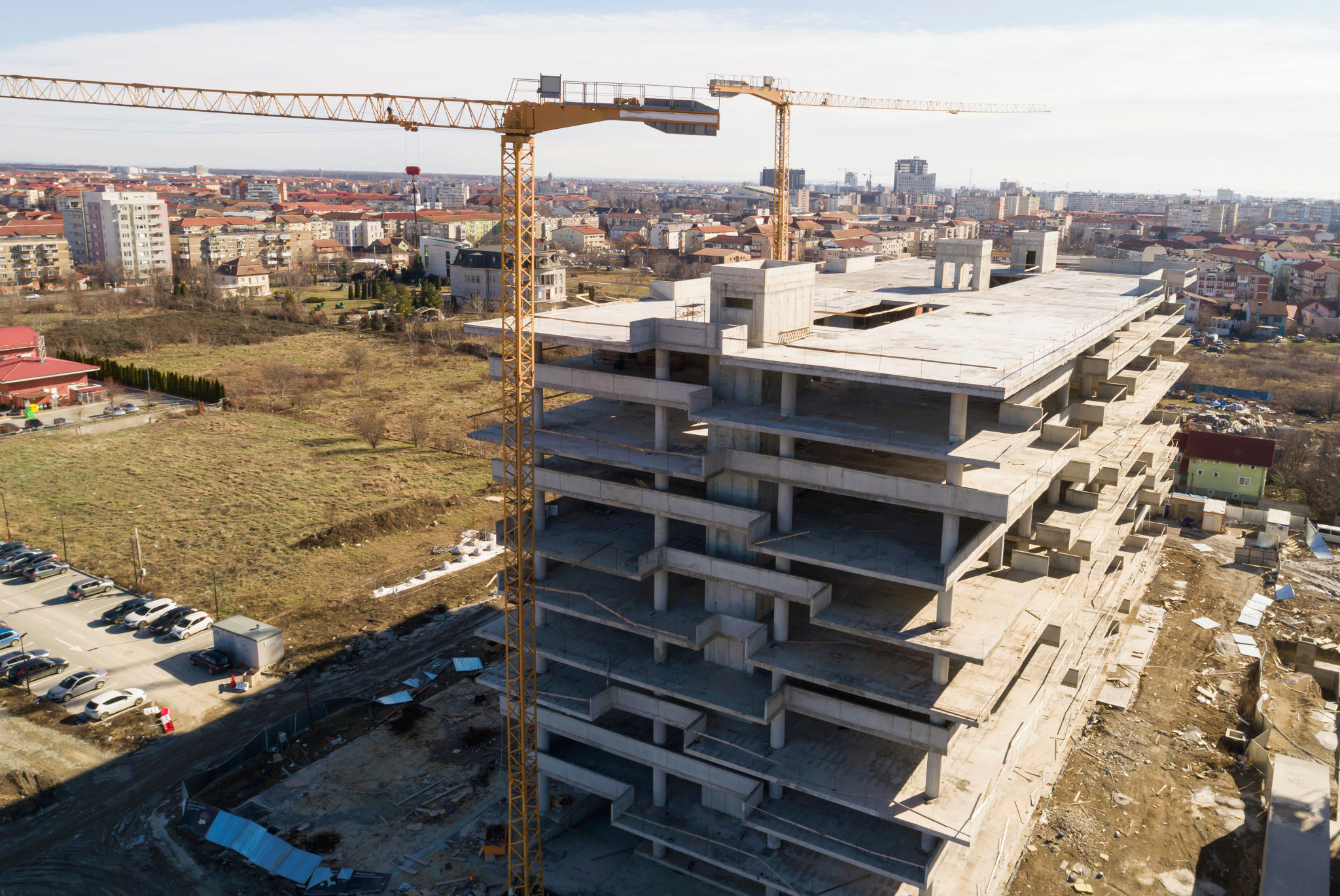 Work status Vox Vertical Village · February 2020